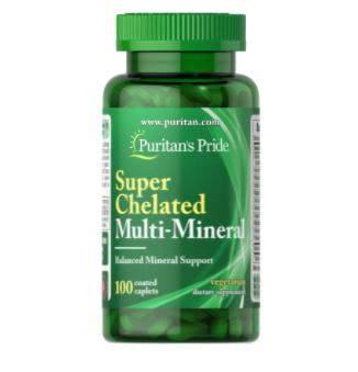 Puritan's Pride Super Chelated Multi-Mineral 100caps [0]