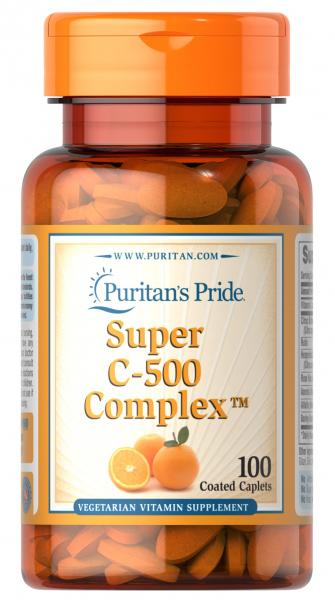 Puritan`s Pride Super C-500 Complex 100 caplets [0]