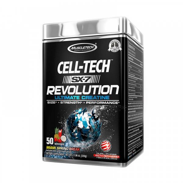 Muscletech SX-7 Cell-Tech Revolution 50 serving 0