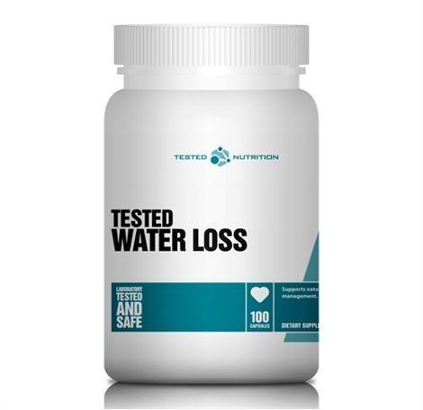 Tested Nutrition Water Loss 100 caps 0