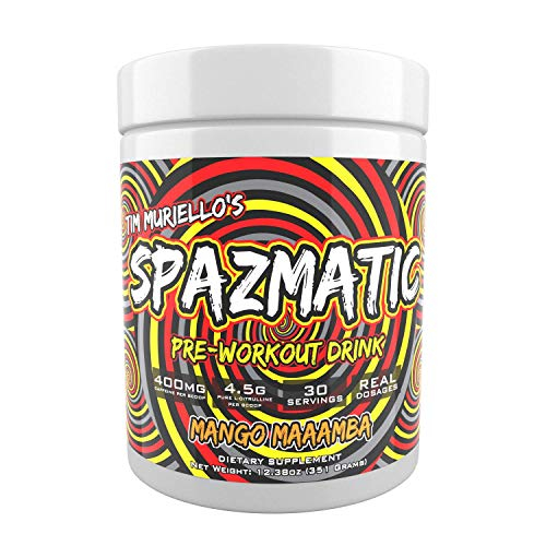 Tim Muriello's Spazmatic Pre-workout 30 serv 0