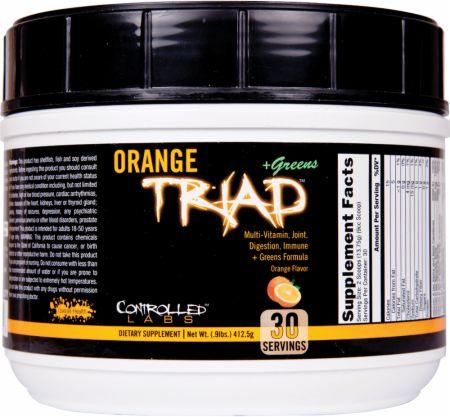 Controlled Labs Orange Triad + Greens 30 serv 0