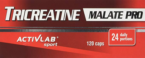 ActivLab TriCreatine Malate PRO 120 caps. 0
