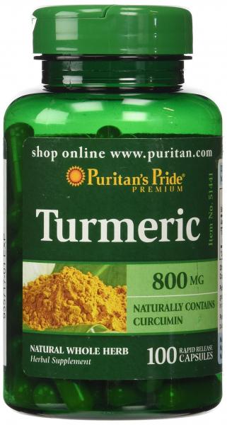 Puritan`s Pride Turmeric 800 mg 100 caps [0]