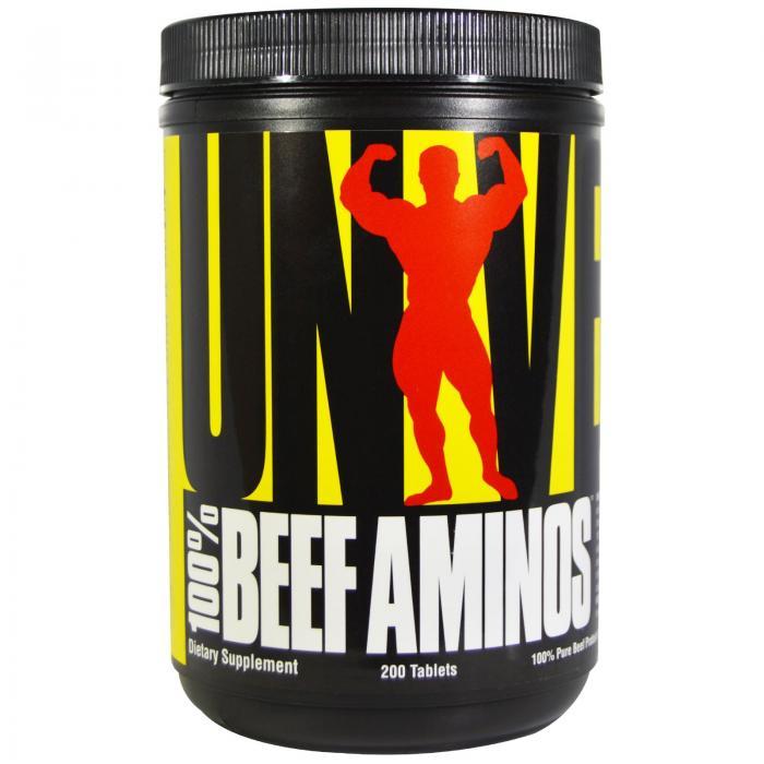 Universal Beef Amino 200 tab 0