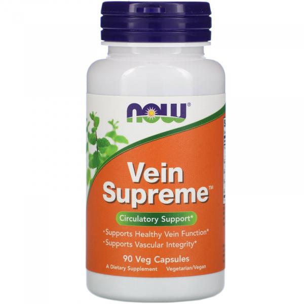 Now Vein Supreme 90 veg caps 0