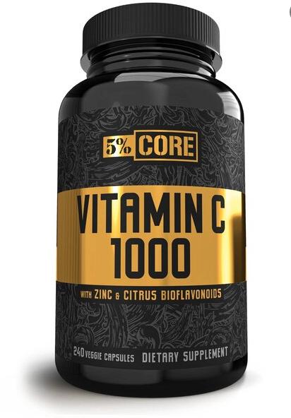 5% NUTRITION VITAMIN C 1000 - CORE SERIES - 240 VCAPS [0]