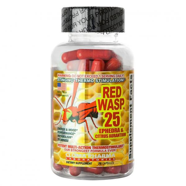 Cloma Pharma Red Wasp  75 caps 0
