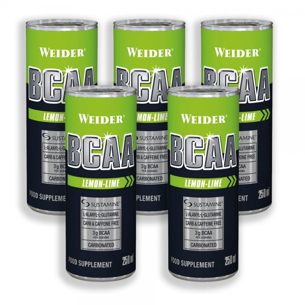 Weider Bcaa+Caffeine 250 ml 10 bc 0