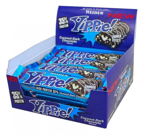 weider-yippie-37-protein-bar-12-buc 0