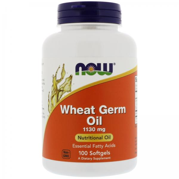 Now Wheat Germ Oil 1130mg 100 softgel 0