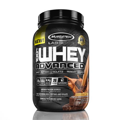 Muscletech 100% Whey Advanced 907 g 0