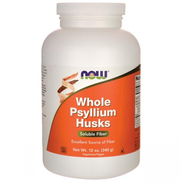 Now Whole Psyllium Husks 340 g 0