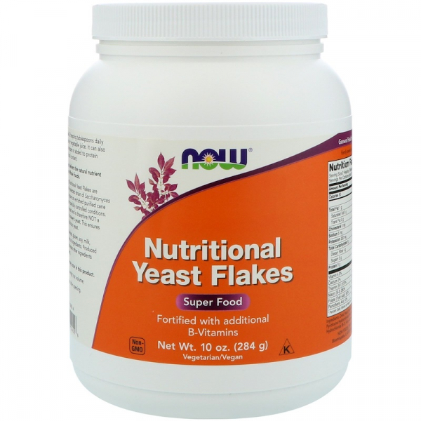 Now Nutritional Yeast Flakes 284 gr 0