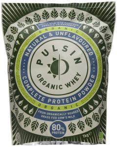 Pulsin Organic Whey Protein Powder 1kg