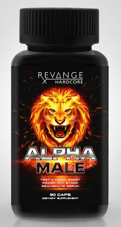 Revange Alpha Male 90 caps
