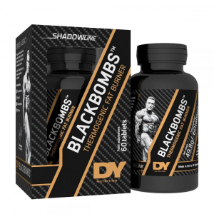 Dorian Yates BlackBombs Thermogenic Fat Burner New Version 60 tab