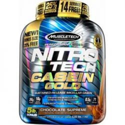 Muscletech Nitro Tech Casein Gold 2,3 kg