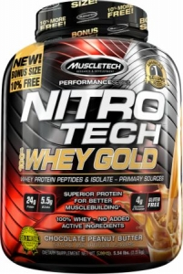 Muscletech Nitro Tech Whey Gold 2.5 kg USA