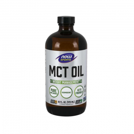 Now Sports Pure MCT Oil Pure 473 ml.0