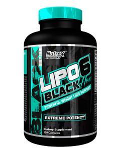 Nutrex Lipo 6 Black Hers New US 120 caps