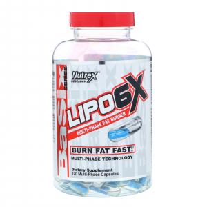 Nutrex Lipo 6X 120 capsule US