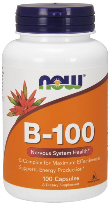 Now B-100 100 veg caps