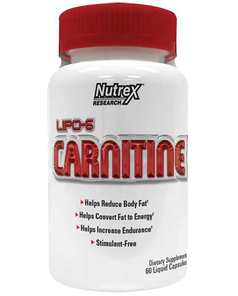 Nutrex Lipo 6 Carnitine 120 liquid caps