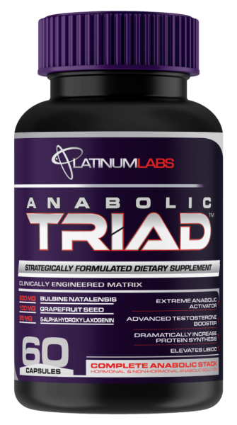 Platinum Labs Anabolic Triad 60 caps