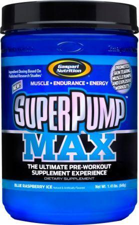 Gaspari SuperPump Max 40 serv