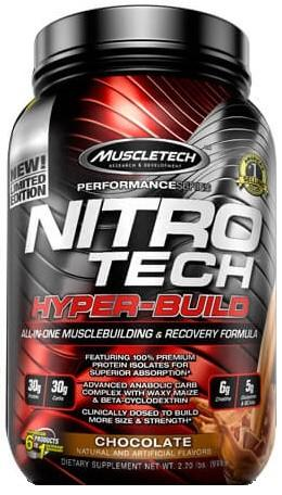 Muscletech Nitro Tech Hyper Build 998g