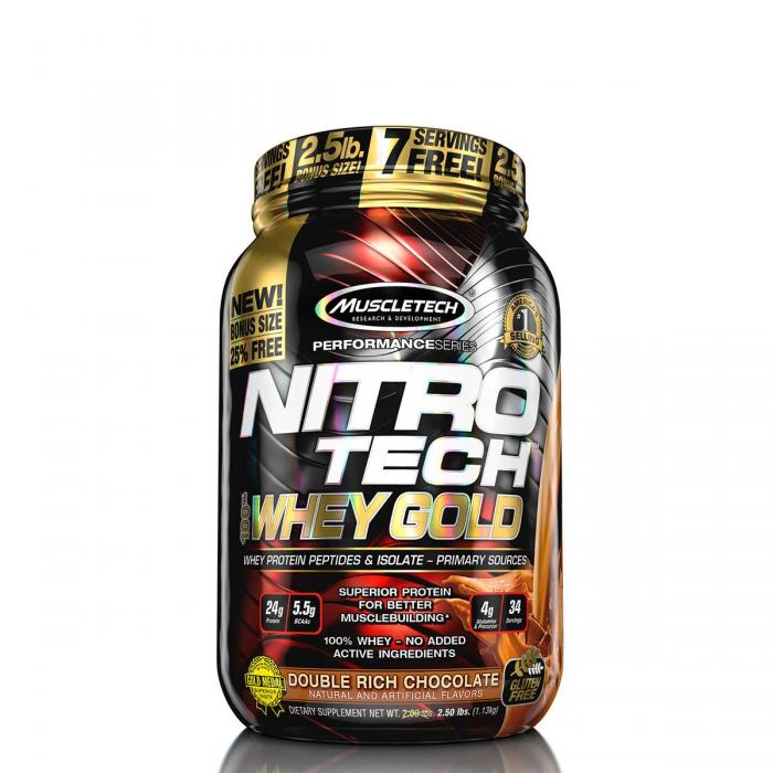 Muscletech Nitro Tech Whey Gold 1.135 kg