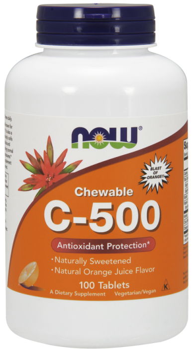 now-chewables-vit-c500-100-tab