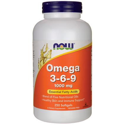 Now Omega 3-6-9 180 softgel
