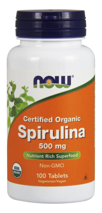 Now Spirulina 100 tab