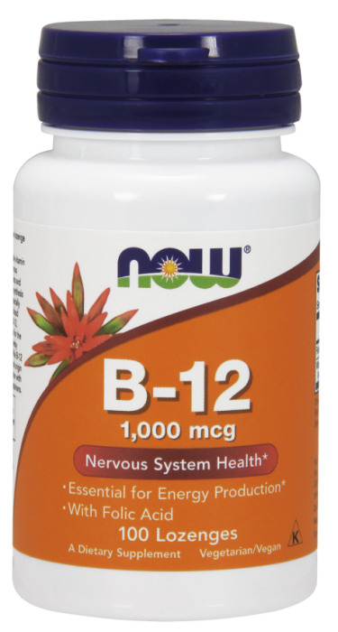 Now Vit B-12 100 lozenges