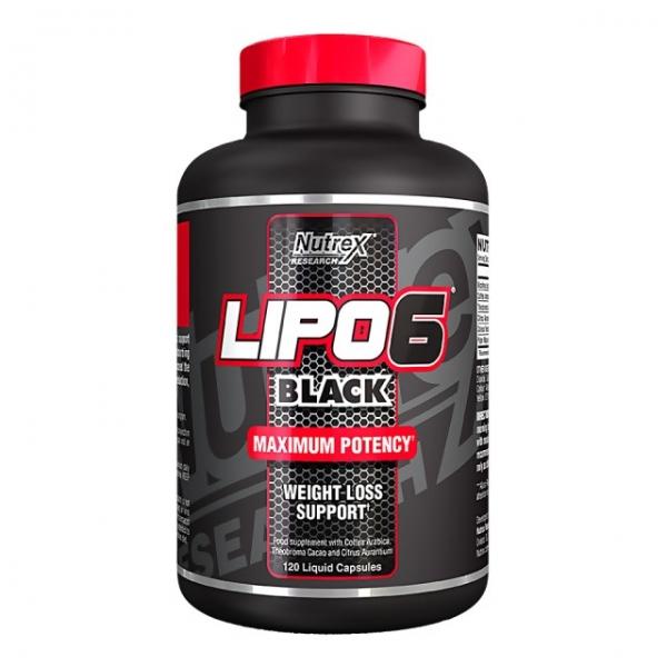 Nutrex Lipo 6 Black US 120 caps