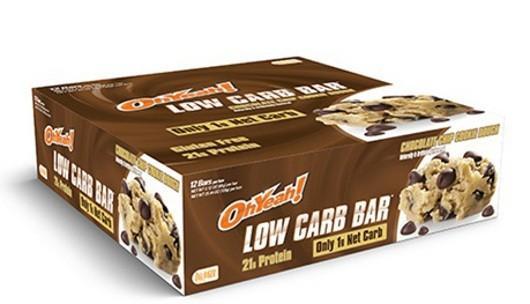 Oh Yeah Low Carb Bars 12bc