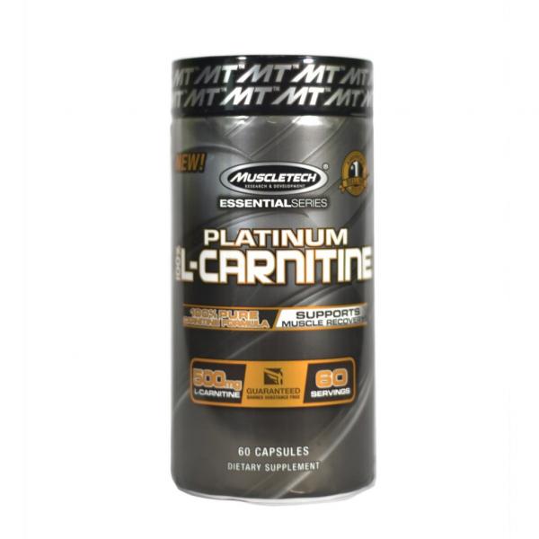 Muscletech Platinum L-Carnitine 60 caps