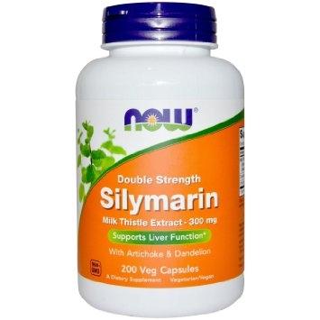 Now Silymarin Double Strenght 300 mg 100 veg caps