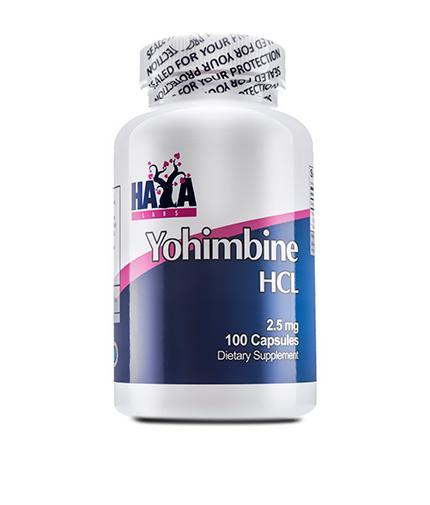 Haya Labs Yohimbe HCL  2,5 mg 100 caps