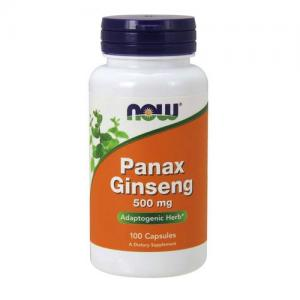 Now Panax Ginseng 500mg 100 caps