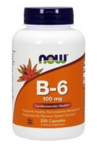 now-b-6-100-mg-250-caps