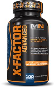 Molecular Nutrition X-Factor Advanced 100 softgel