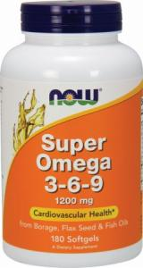 Now Super Omega 3-6-9 1200mg 180 softgels