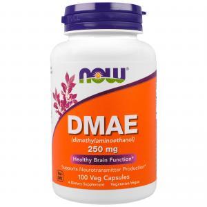 NOW DMAE 250 mg 100 caps