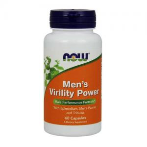 Now Men`s Virility Power 60 veg caps