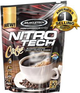 Muscletech Nitro Tech Cafe 30 serv