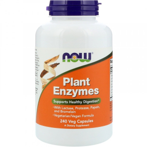 NOW Plant Enzymes 240 veg caps