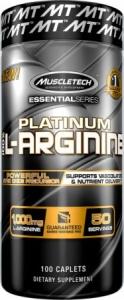 Muscletech Platinum 100% L-Arginine 100 caps